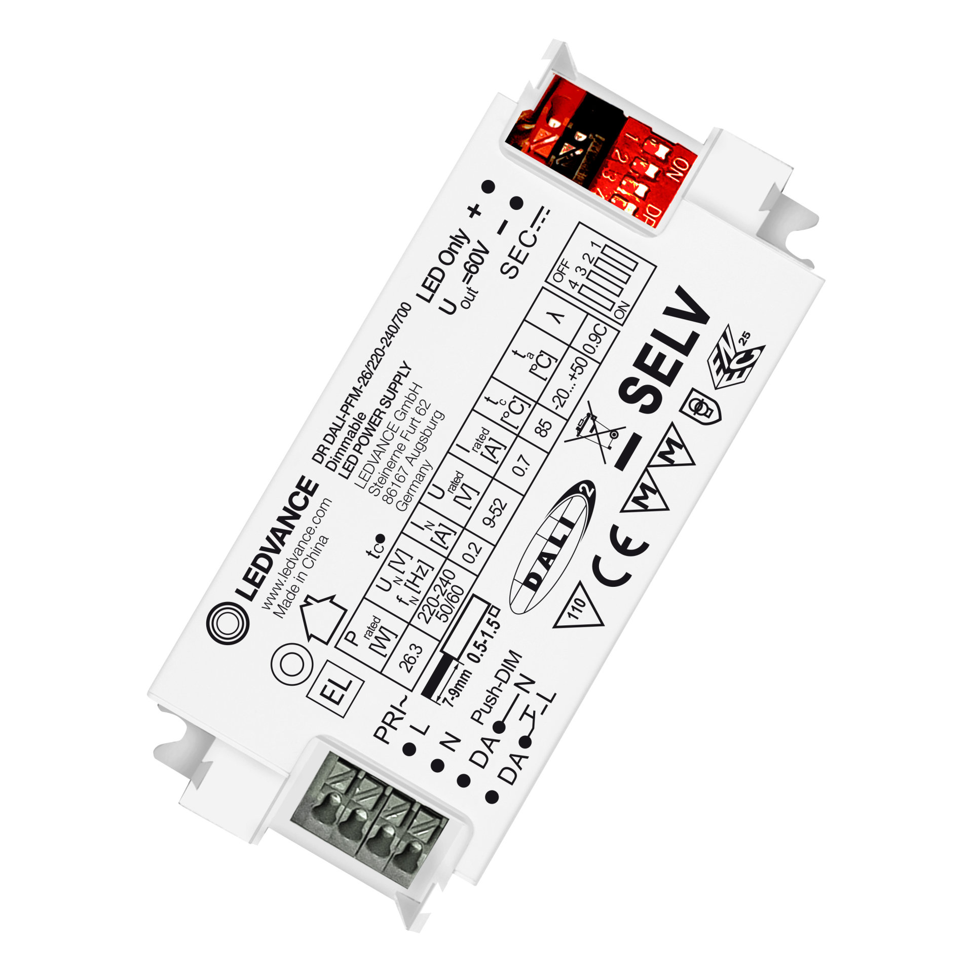 LED DRIVER DALI PERFORMANCE