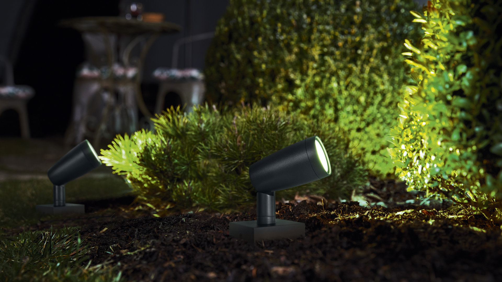 SMART OUTDOOR WIFI GARDEN SPOT RGBW