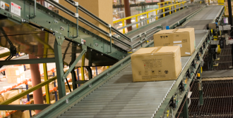 Shipping in a warehouse
