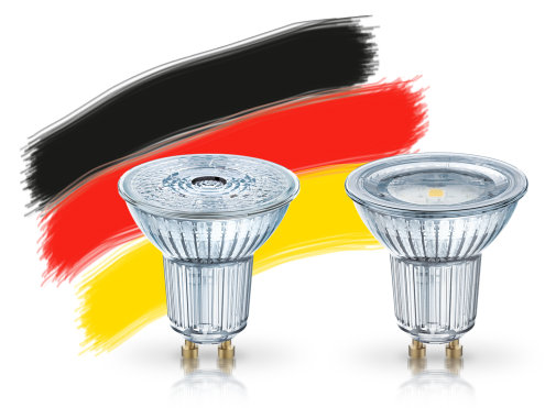 "LED-ljuskällor ""Made in Germany"""