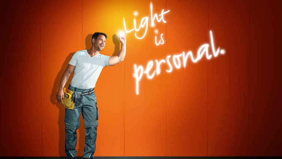 Light is personal
