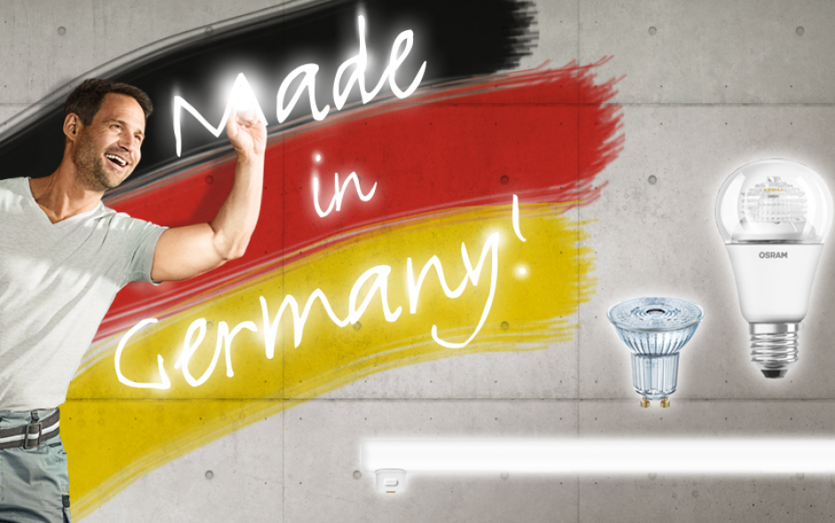 "LED-Lampen ""Made in Germany"""