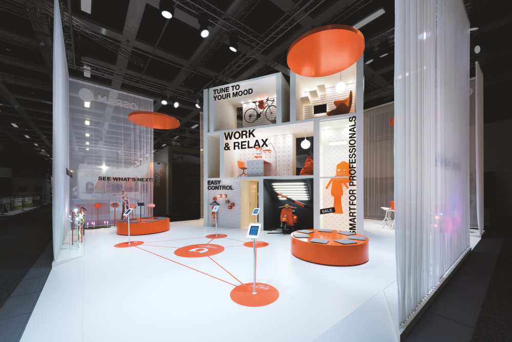If design award 2017 for ifa exhibition booth for Product design berlin