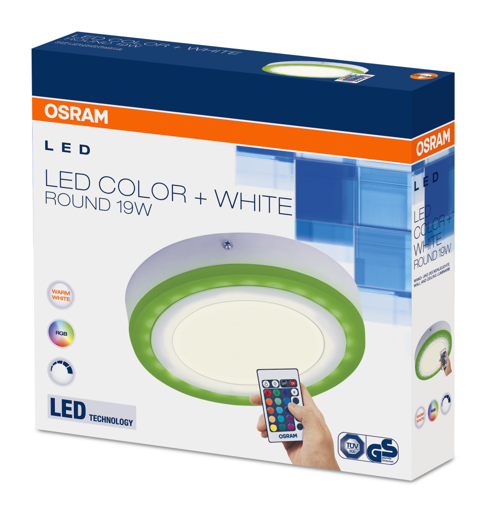 LED COLOR + WHITE rund