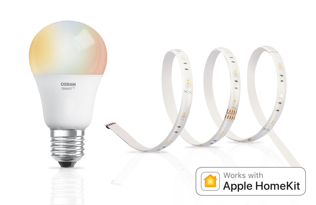apple home kit osram lamps. Black Bedroom Furniture Sets. Home Design Ideas