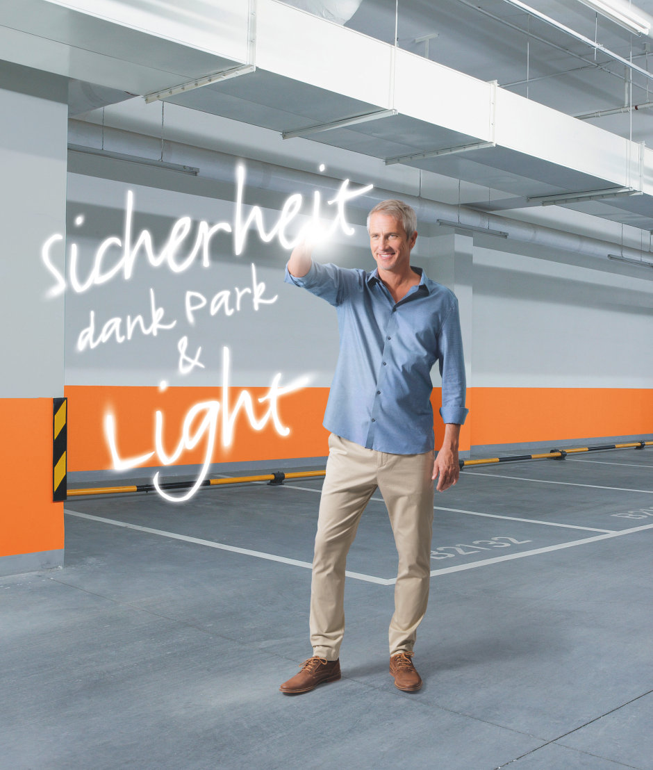 Sicherheit dank Park & Light
