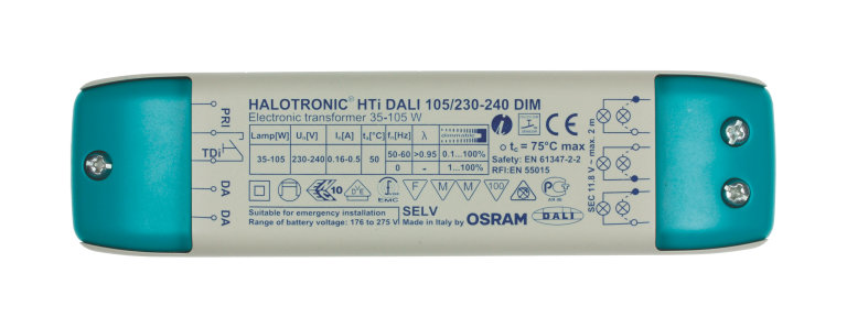 HALOTRONIC HTi Dimmable electronic transformers for low ... on
