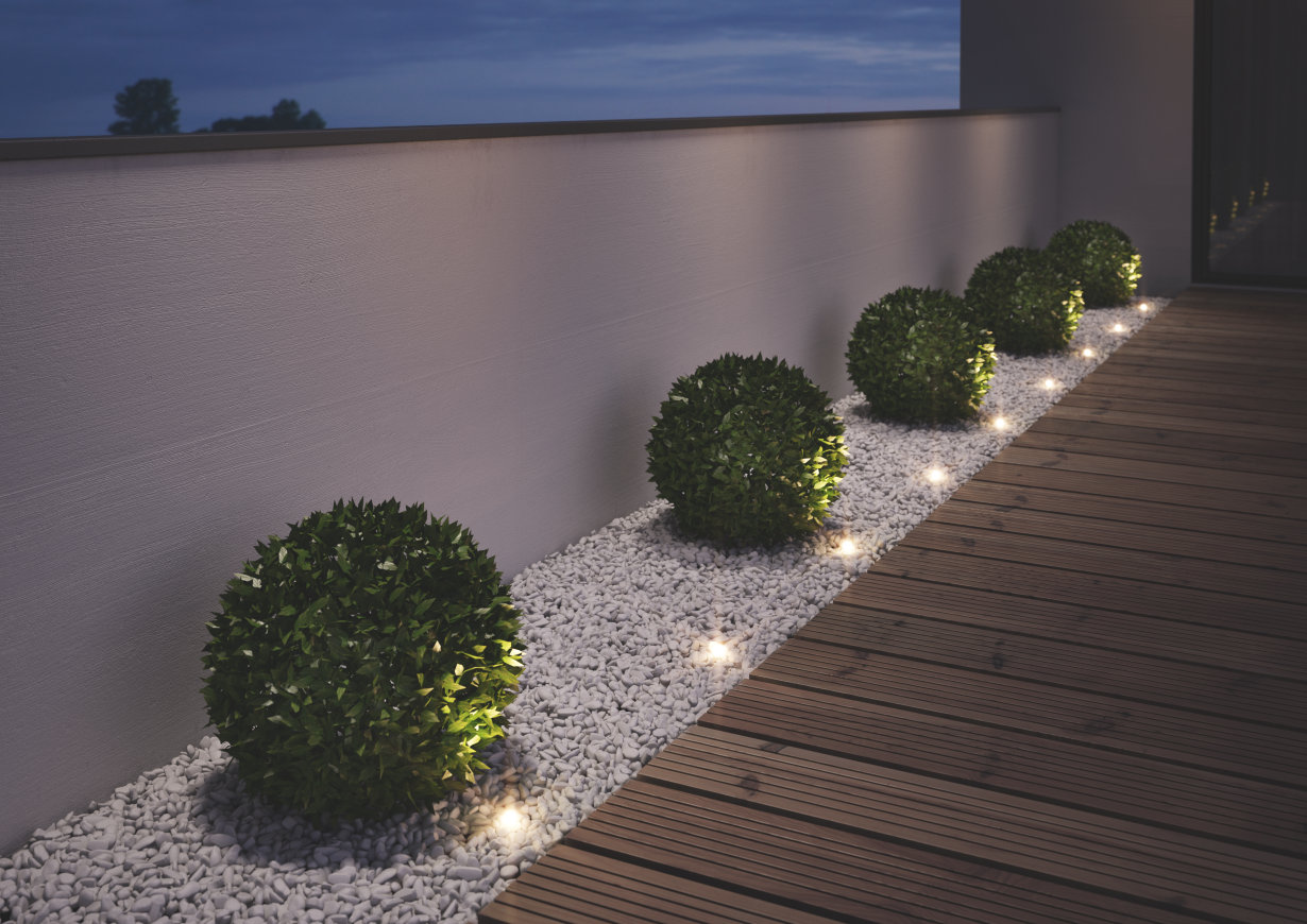 Outdoor-Leuchte NOXLITE LED Garden Spot Mini