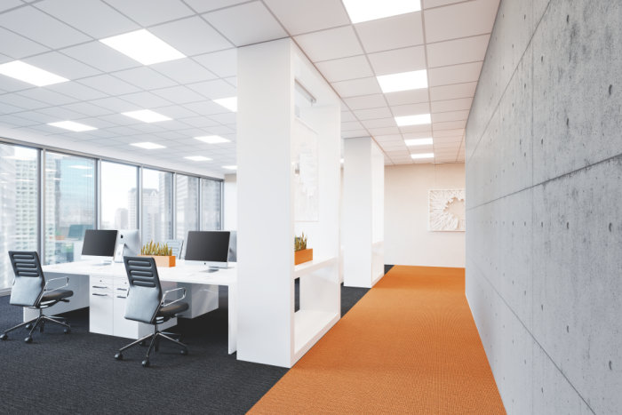 Lighting for office buildings