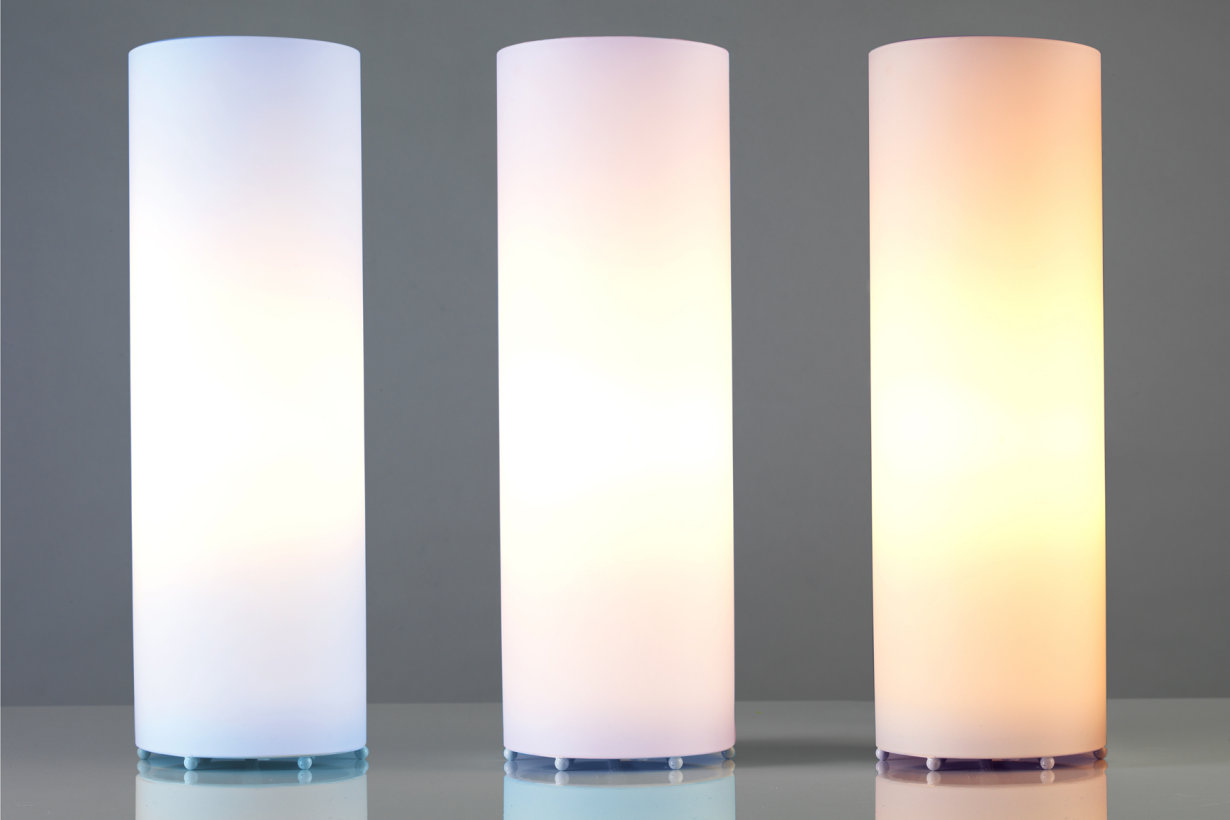 LEDs make it possible – from warm white to daylight white