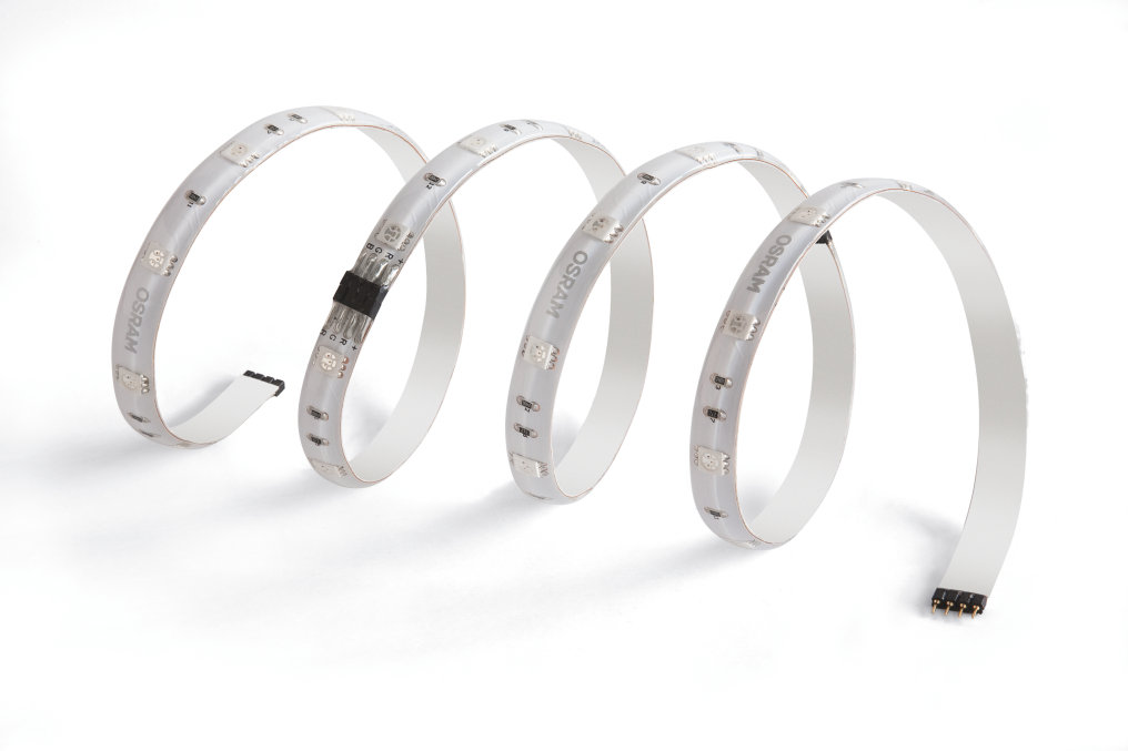LED strips: More flexibility isn't possible
