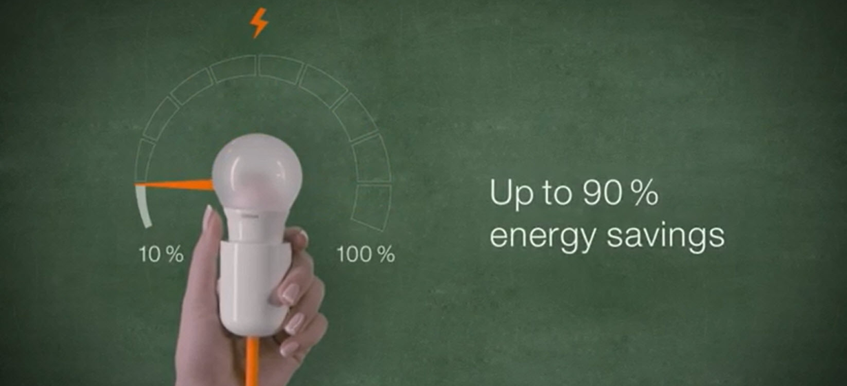 How efficient are OSRAM LED lamps?