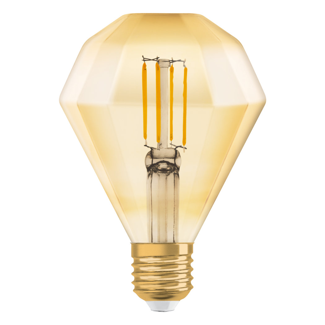 1906 LED DIAMOND FIL GOLD E27