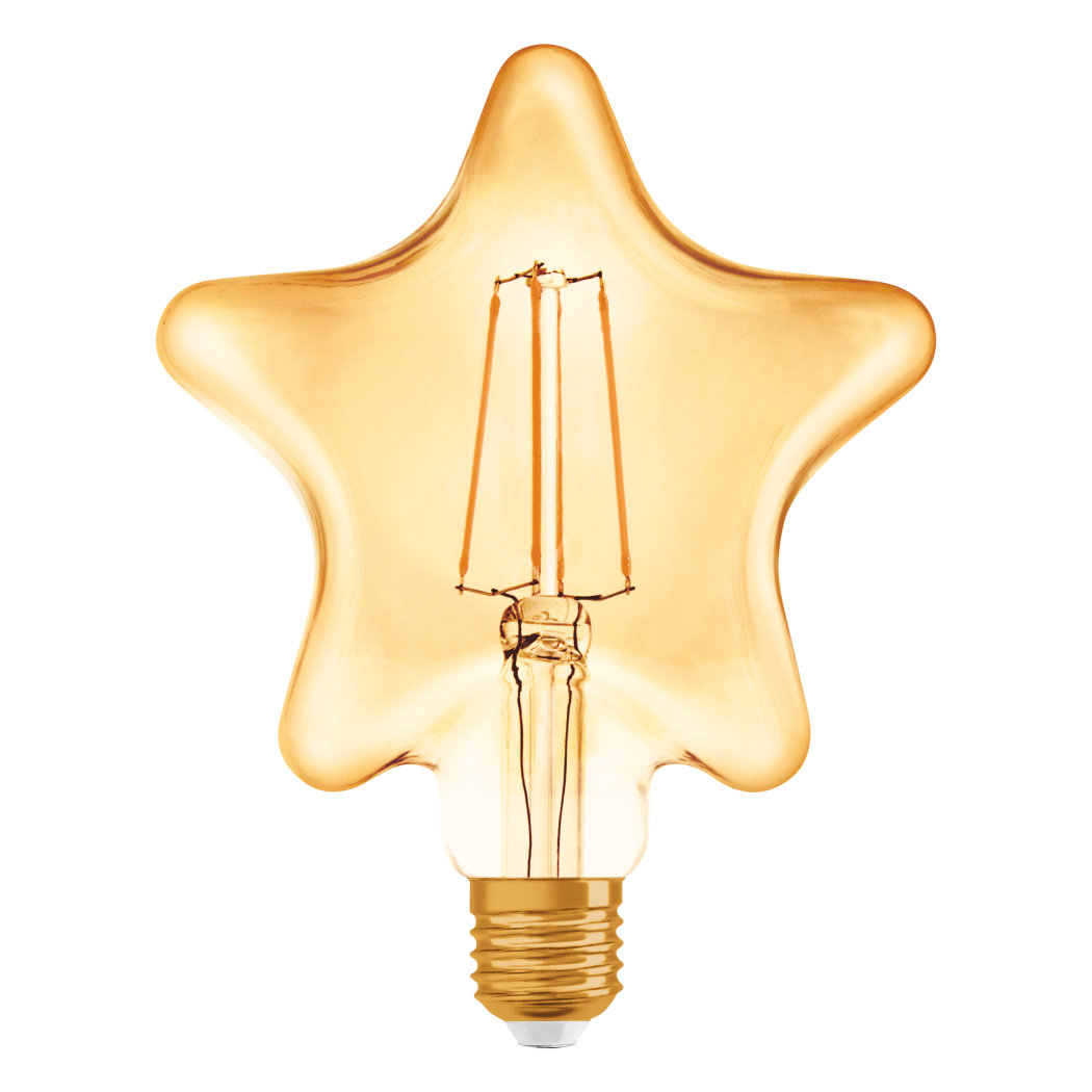1906 LED STAR FIL GOLD E27