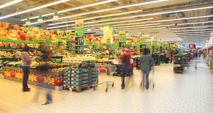 Supermarkt lighting