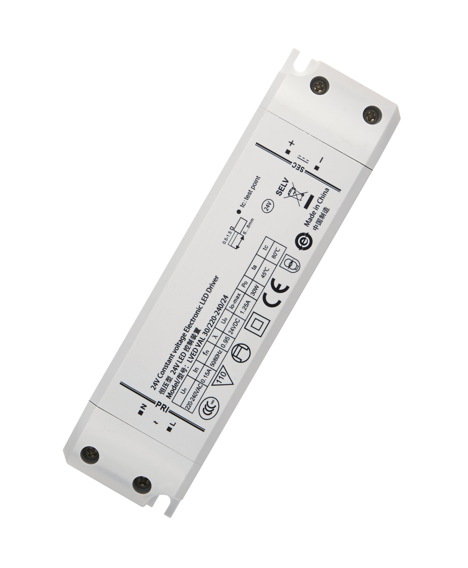 Constant Voltage – Non dimmable