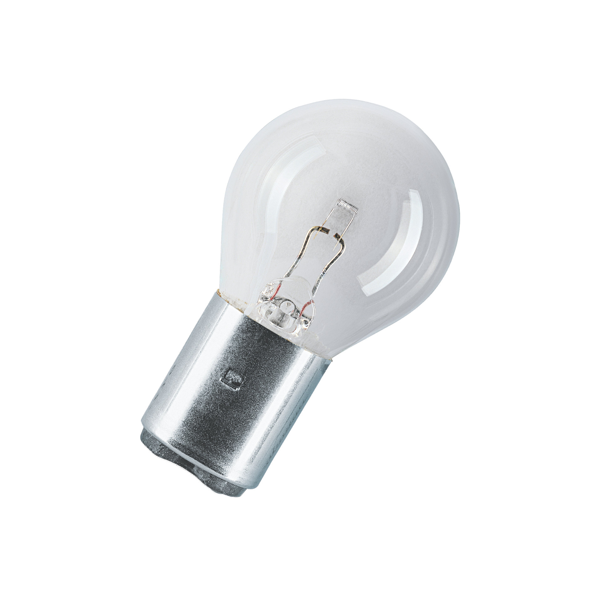 Low-voltage over-pressure single-coil lamps, railway