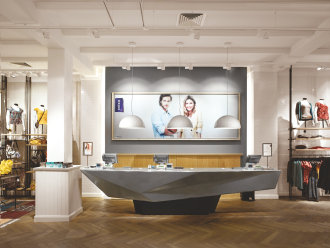 Sophisticated lighting solution for fashion retailer Mexx
