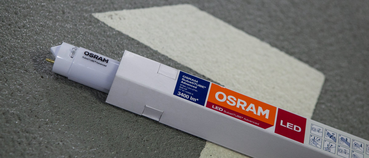Lámpara LED OSRAM SubstiTUBE HF