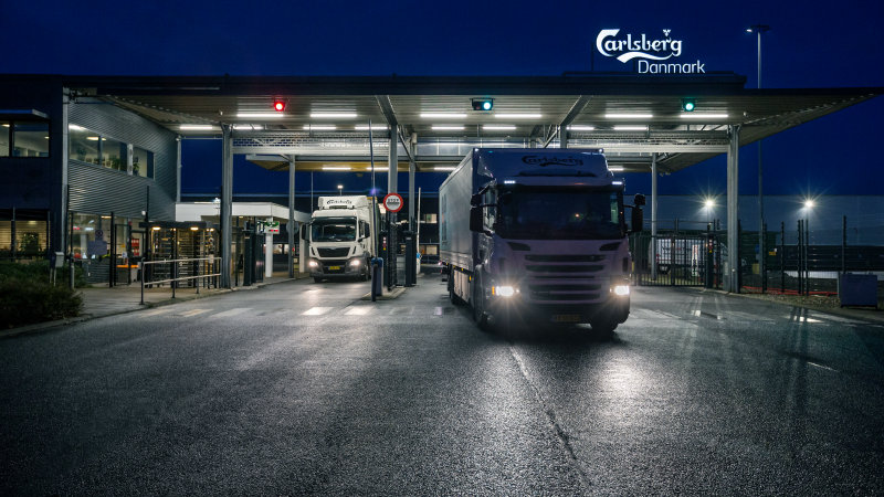 New LED-lighting solution for Carlsberg