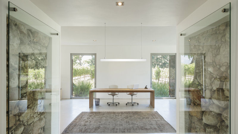 Home office LINEAR PENDANT ritoccato