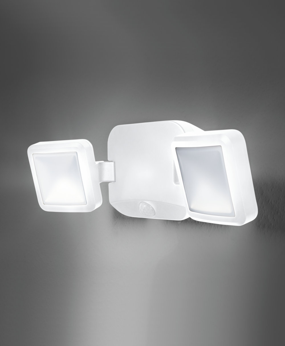 Battery LED Spotlight Double WT