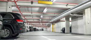 Commerzbank Arena Parking Garage
