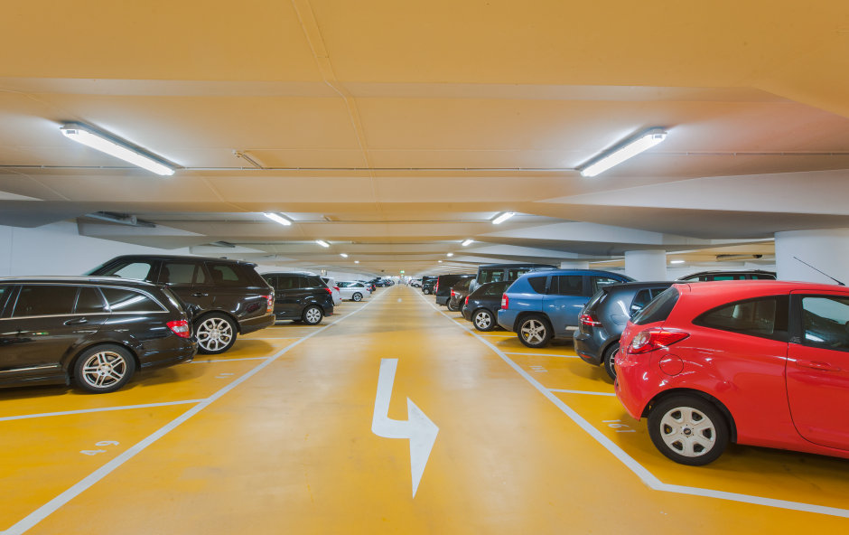 LED tubes in Contipark car parks