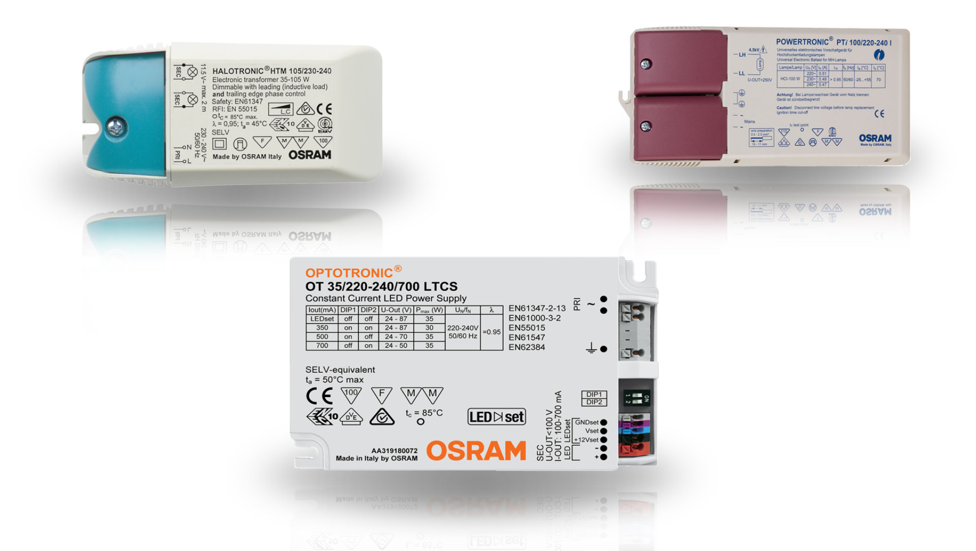 OSRAM ECG Replacement Finder