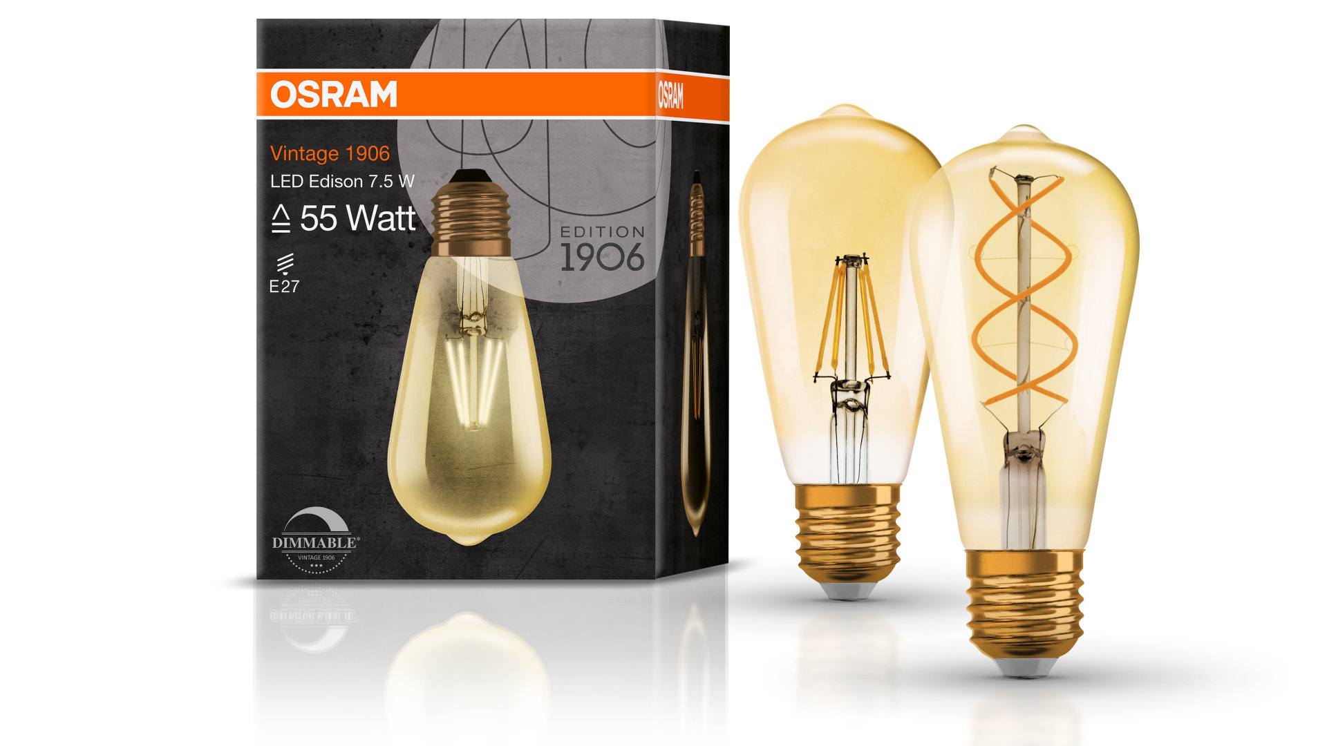 Vintage Edition 1906 LED Edison