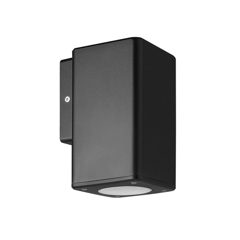 APLIQUE SINGLE HOUSING BLACK
