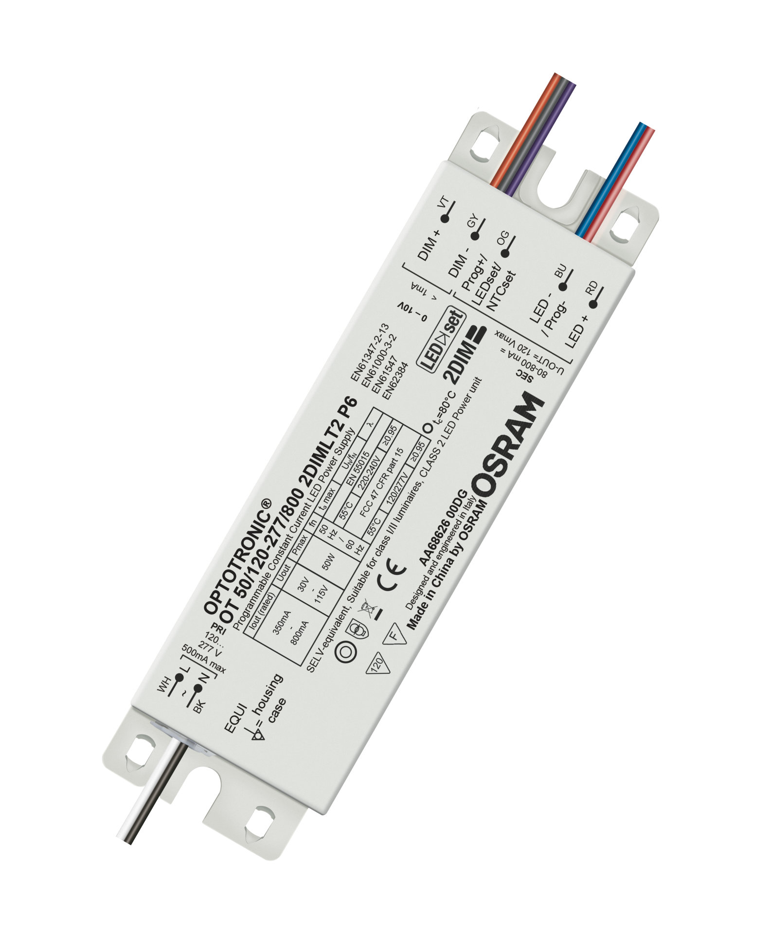 OT 2DIM IP64 Outdoor 0…10 V, AstroDIM – constant current LED drivers