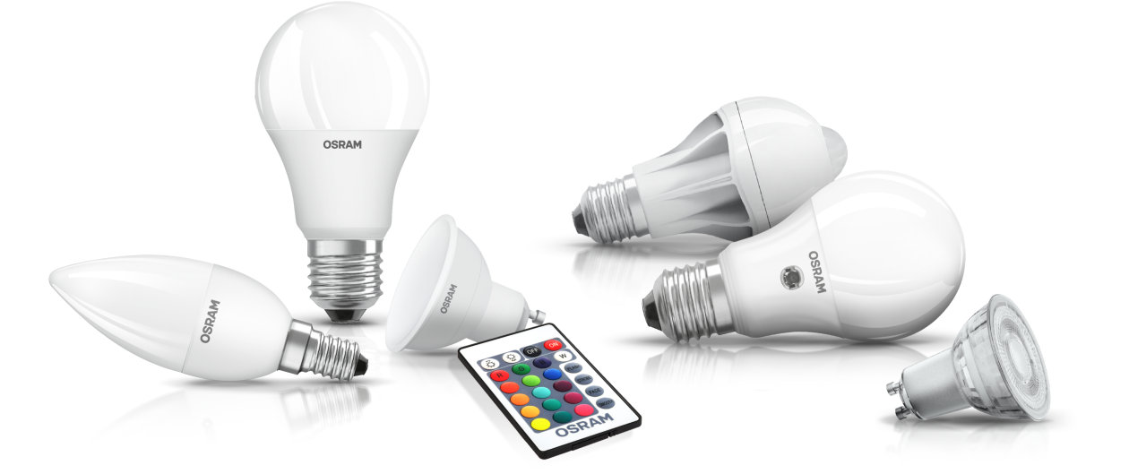 LED Lamps With Additional Features