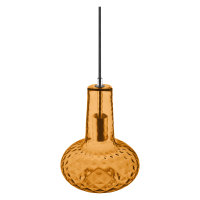 PENDANT PEAR Glass Orange