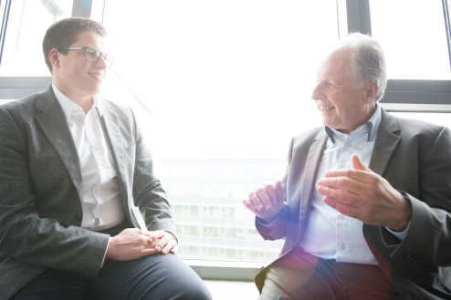 interview at LEDVANCE with Christian Burger and Kunz von Kriegelstein