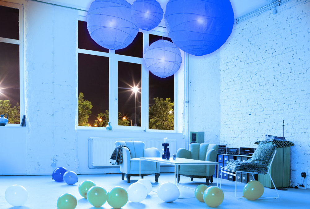 Modern LED lighting child room