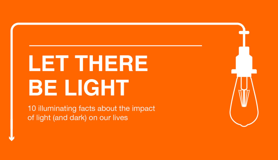 Infographic: Let There Be Light