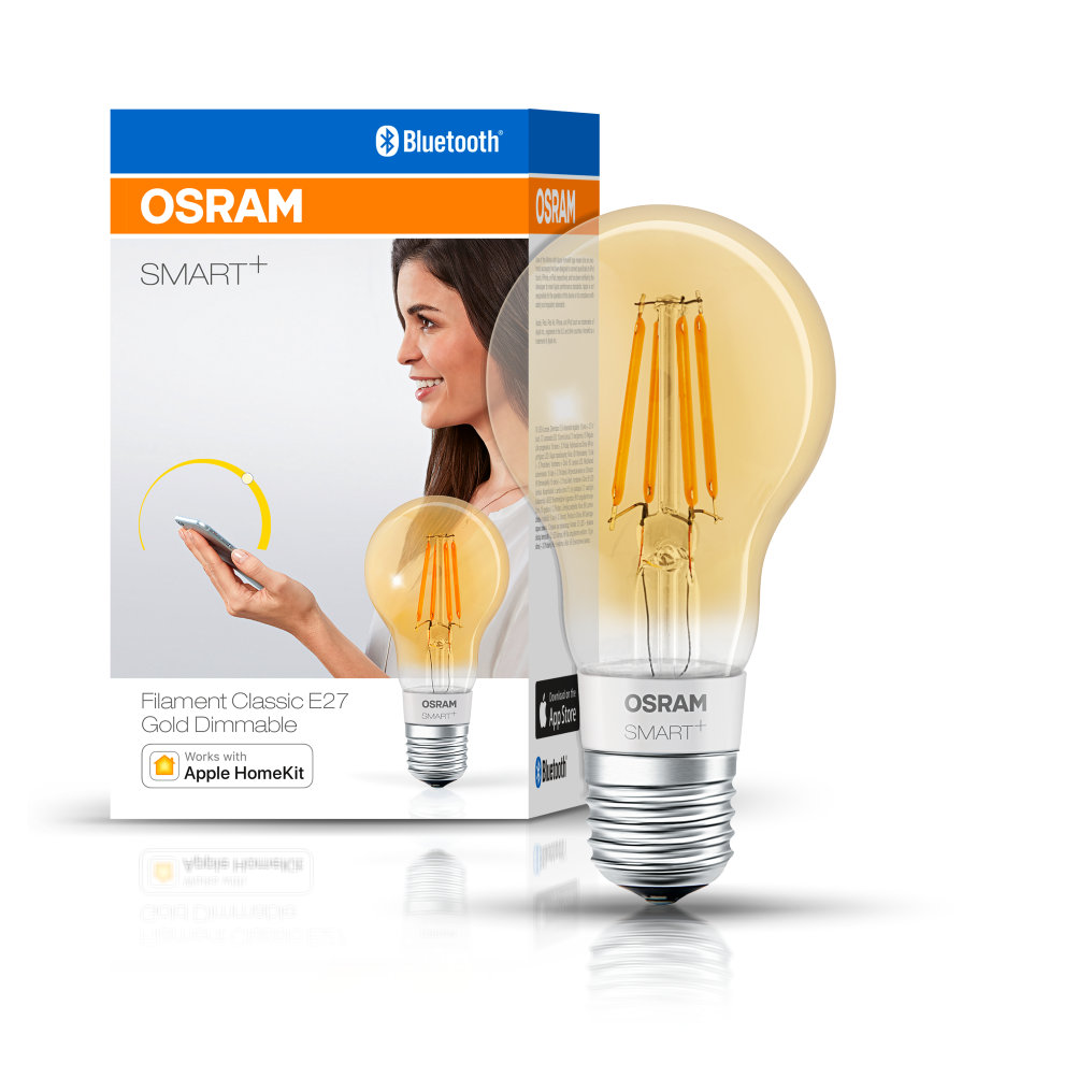 Smartplus Filament Classic E27 Dimmable Gold - Bluetooth