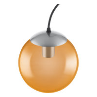 PENDANT 200x1460 Glass Orange