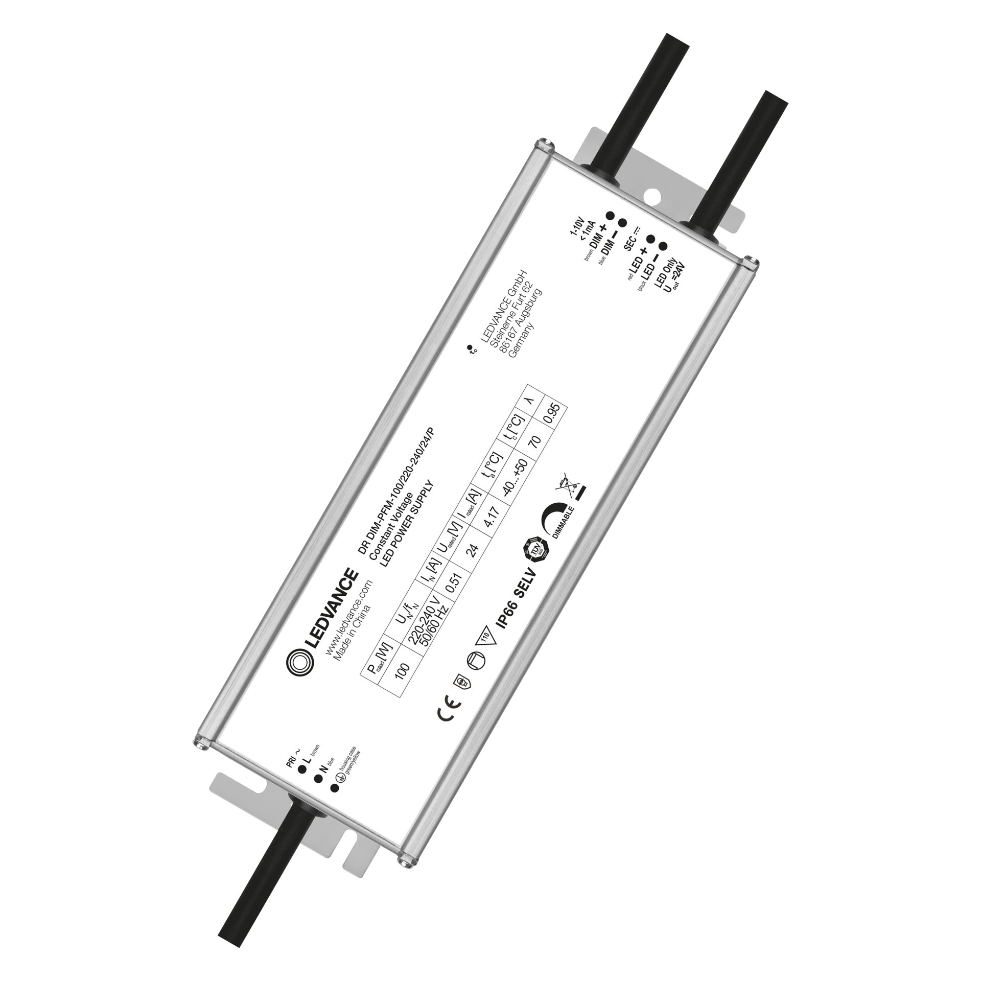 LED DRIVER 1-10 V DIM OUTDOOR PERFORMANCE