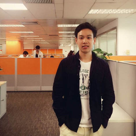 Hector Wen, R&D engineer i Kina