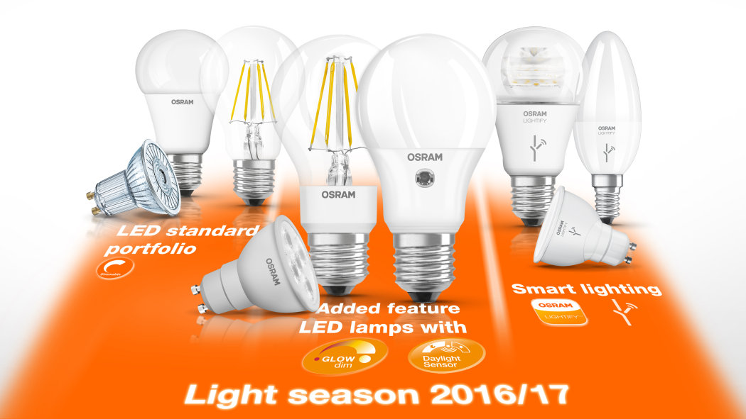 LED lamps lighting season 2016