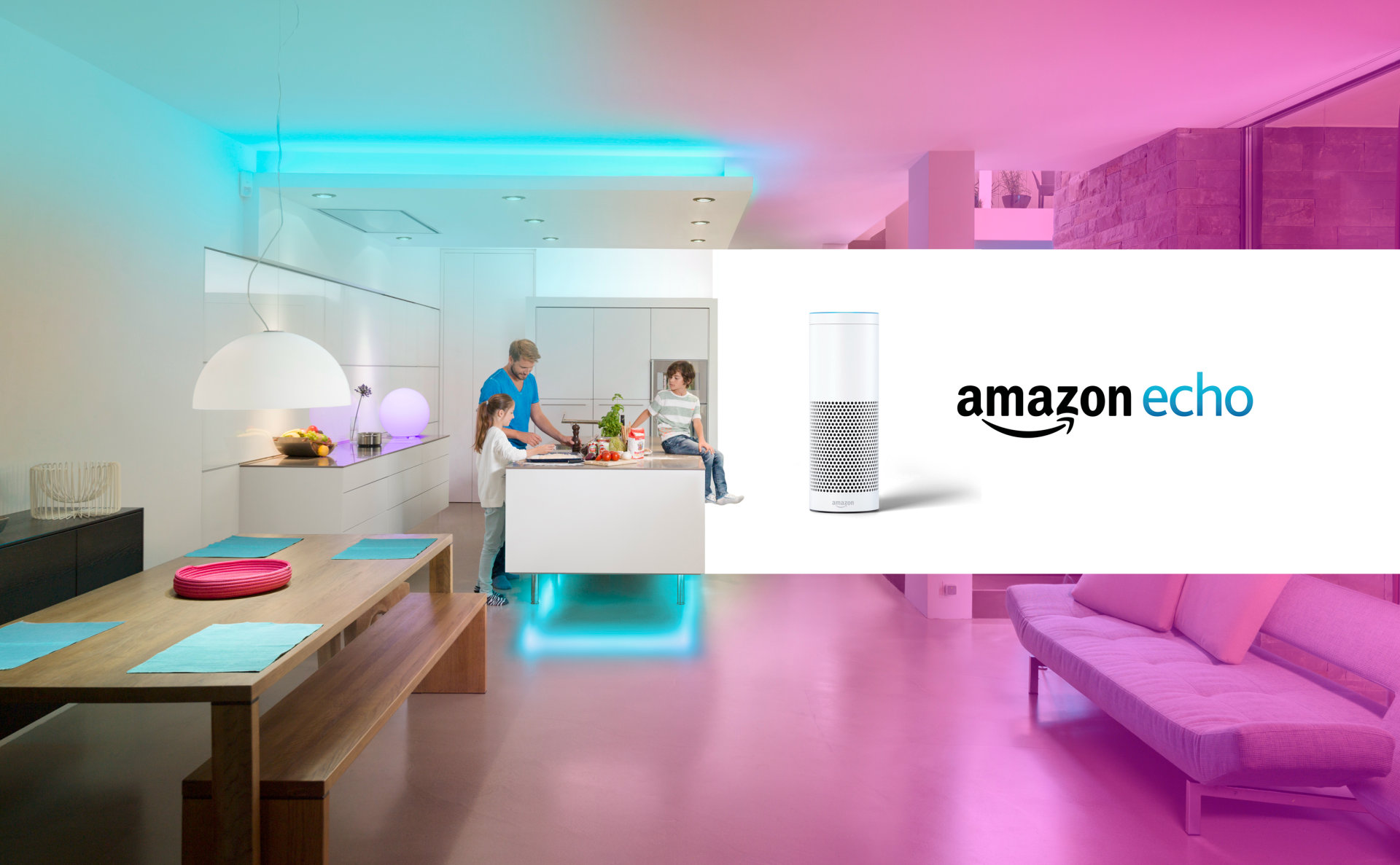 Amazon Echo Plus with Ledvance Smart+