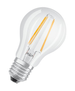 LED lamps with classic bulbs