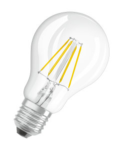Lampes LED avec design filament en technologie LED
