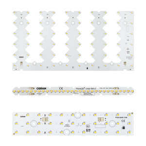 Light Engines and LED modules for linear and square luminaires