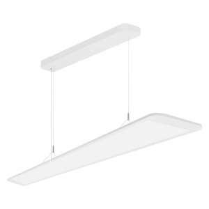 Suspended and surface-mounted luminaires