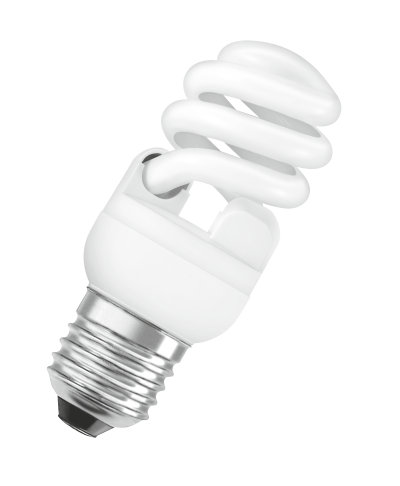 Compact fluorescent lamps with integrated control gear