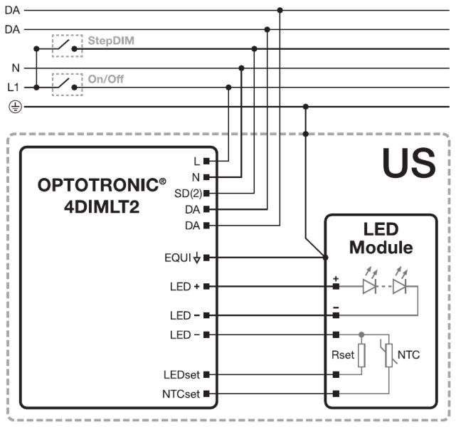 Optotronic outdoor 4dimdali constant current led drivers products wiring diagram swarovskicordoba Choice Image
