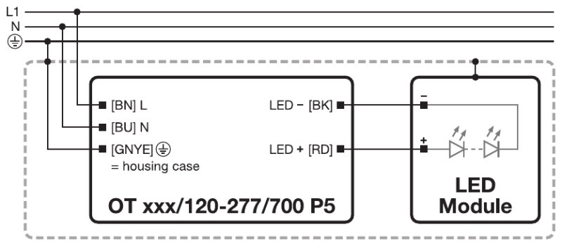 Optotronic outdoor constant current led drivers products wiring diagram swarovskicordoba Choice Image